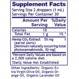 Hemp Extract (55mg/ml)