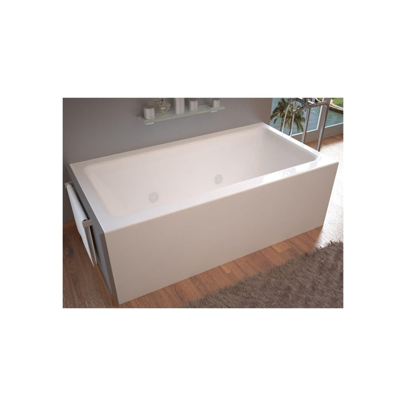 Atlantis Whirlpools 3060SHWL Soho 30 x 60 Front Skirted Whirlpool Tub with Left Drain - homeconvex