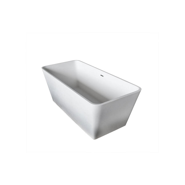 Atlantis Whirlpools 5927BLSXCWXX Bealey 27 x 60 Artificial Stone Freestanding Bathtub - homeconvex