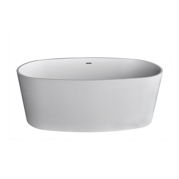 Atlantis Whirlpools 6131KWSXCWXX Kurow 32 x 62 Artificial Stone Freestanding Bathtub - homeconvex