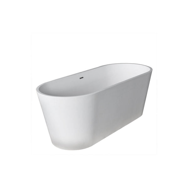 Atlantis Whirlpools 6728LHSXCWXX Leith 28 x 67 Artificial Stone Freestanding Bathtub - homeconvex