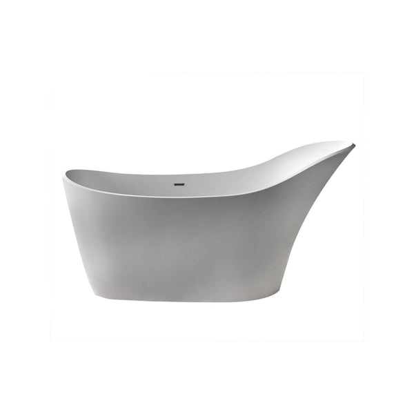 Atlantis Whirlpools 6730CDSXLWXX Cavendish 30 x 67 Artificial Stone Freestanding Bathtub - homeconvex