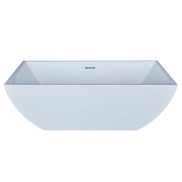 Atlantis Whirlpools 6730RNSXCWXX Renard 30 x 67 Rectangle Acrylic Freestanding Bathtub - homeconvex
