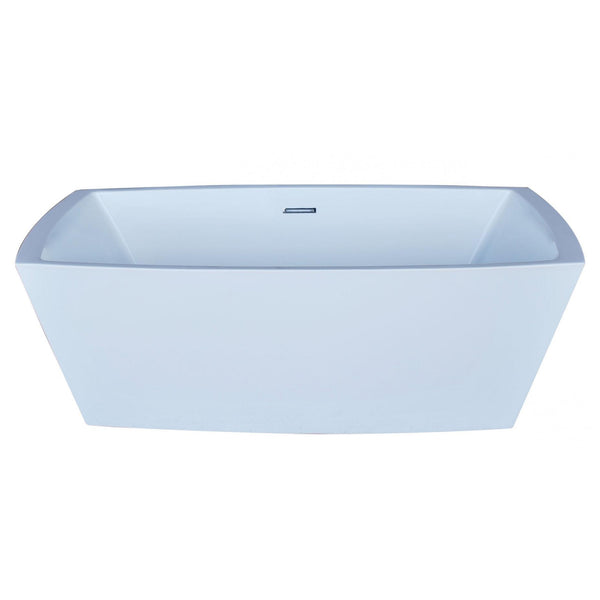 Atlantis Whirlpools 6731ATSXCWXX Antione 32 x 67 Rectangle Acrylic Freestanding Bathtub - homeconvex