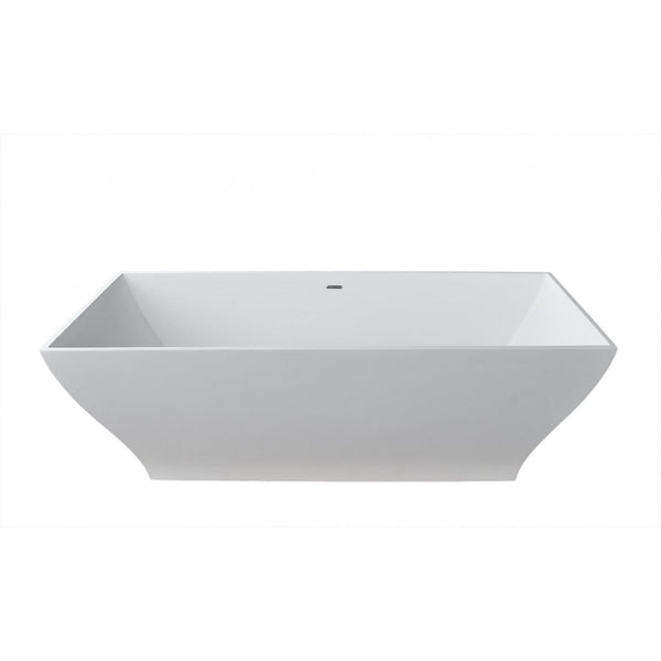 Atlantis Whirlpools 7131BHSXCWXX Blythe 32 x 71 Artificial Stone Freestanding Bathtub - homeconvex