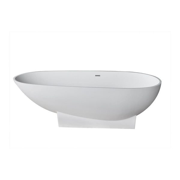 Atlantis Whirlpools 7136GNSXLWXX Galion 37 x 72 Artificial Stone Freestanding Bathtub - homeconvex