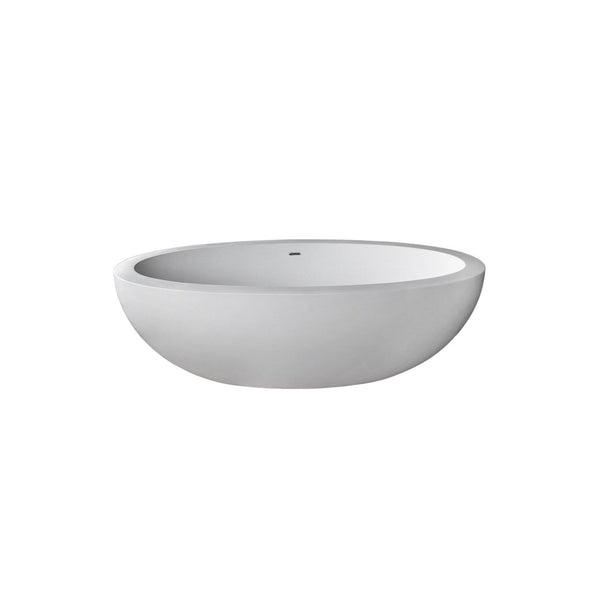 Atlantis Whirlpools 7541CBSXCWXX Cabarita 42 x 75 Artificial Stone Freestanding Bathtub - homeconvex