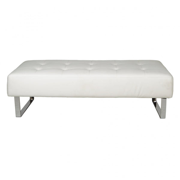 Whiteline Modern Living BN1085P Miami Bench - homeconvex
