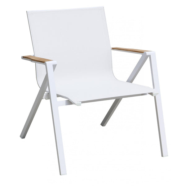Whiteline Modern Living CH1532 Soho Indoor/Outdoor Armchair White - homeconvex