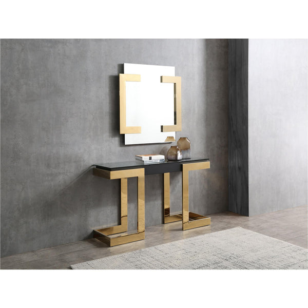 Whiteline Modern Living CO1658 Sumo Console Black - homeconvex