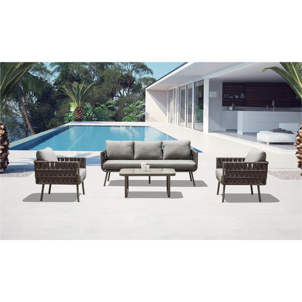 Whiteline Modern Living COL1563 Oasis Outdoor Set - homeconvex