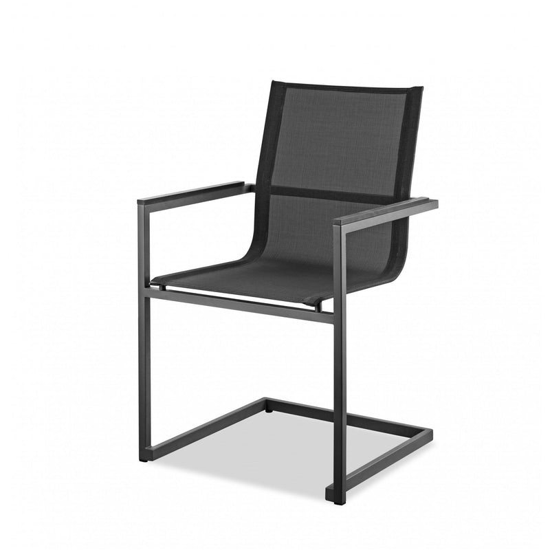 Whiteline Modern Living DAC1580 Rain Indoor/Outdoor Dining Armchair - homeconvex