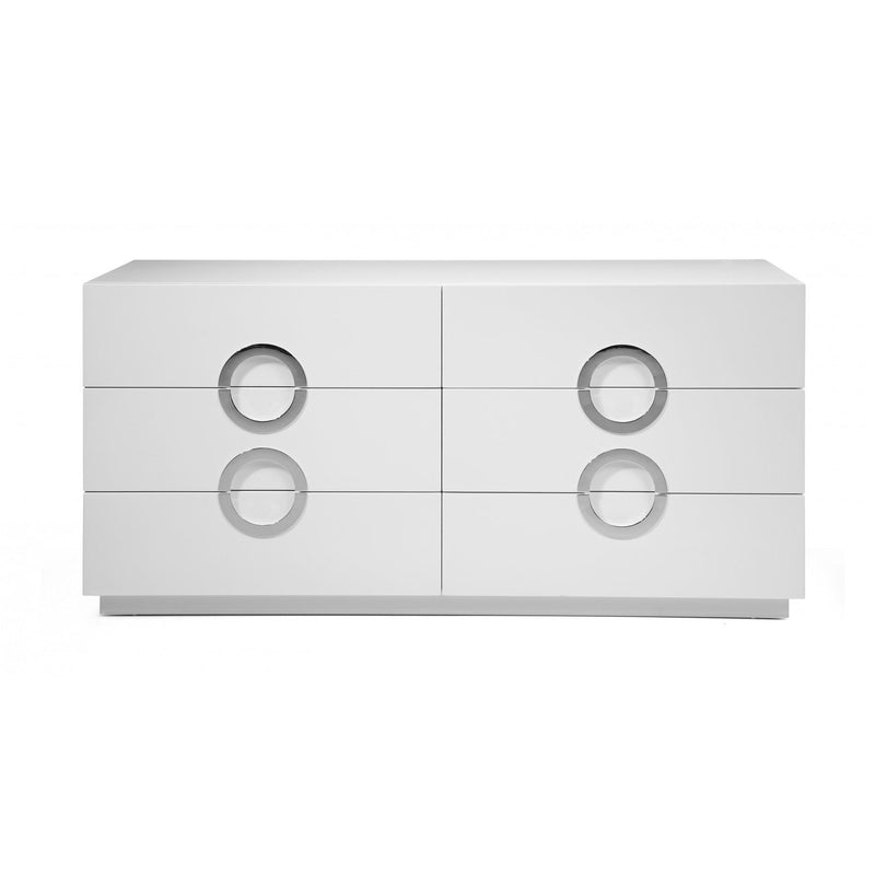 Whiteline Modern Living DR1208D Eddy Double Dresser - homeconvex
