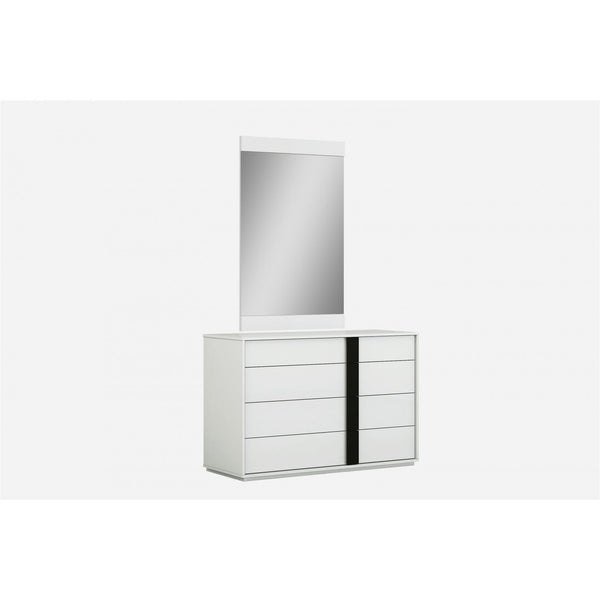 Whiteline Modern Living DR1617 Kimberly Dresser, High Gloss White - homeconvex