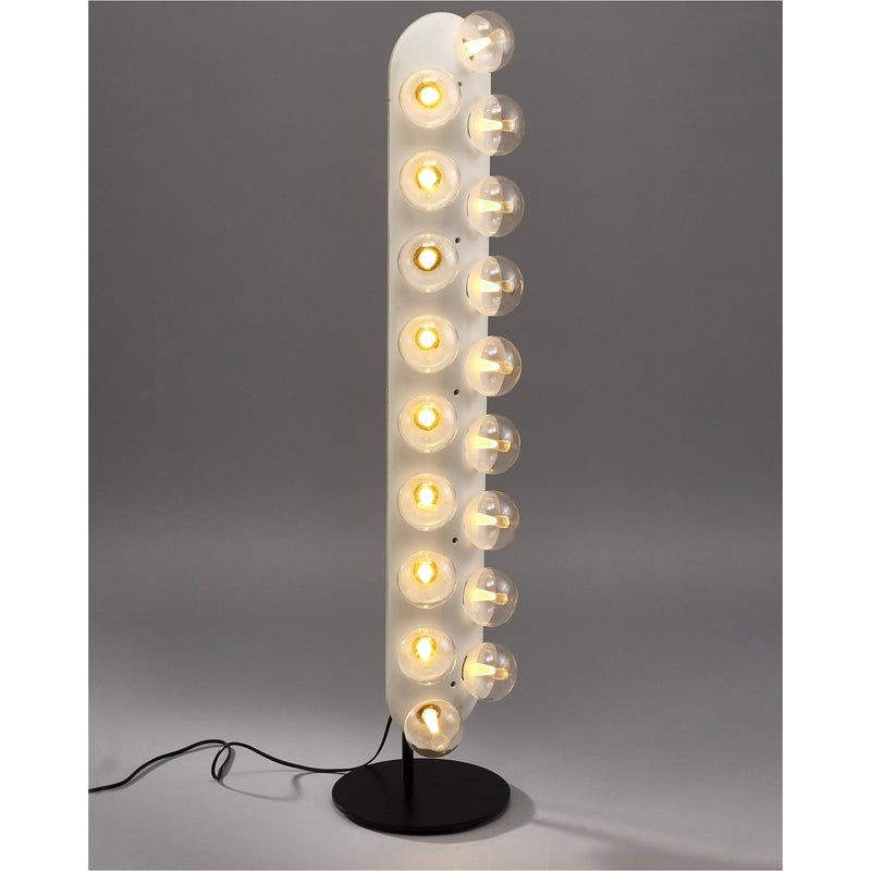 Whiteline Modern Living FL1509 Ruby Floor Lamp White - homeconvex