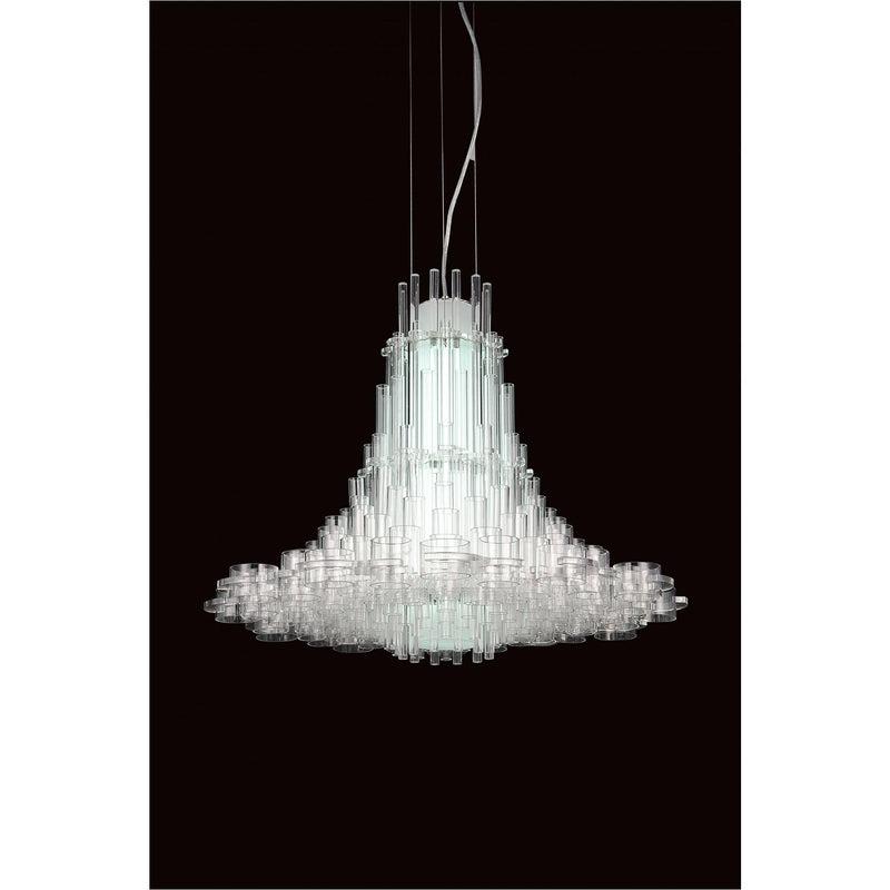 Whiteline Modern Living PL1504 Sasha Pendant Lamp White Acrylic.... - homeconvex