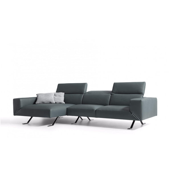 Whiteline Modern Living SL1614 Henry Sectional Grey - homeconvex