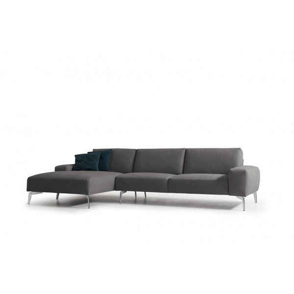 Whiteline Modern Living SL1615 Negramaro Sectional Dark Grey - homeconvex