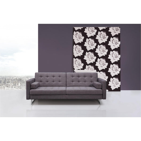 Whiteline Modern Living SO1195F Giovanni Sofa Bed Gray - homeconvex