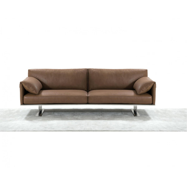 Whiteline Modern Living SO1616 Gaber Sofa Taupe - homeconvex