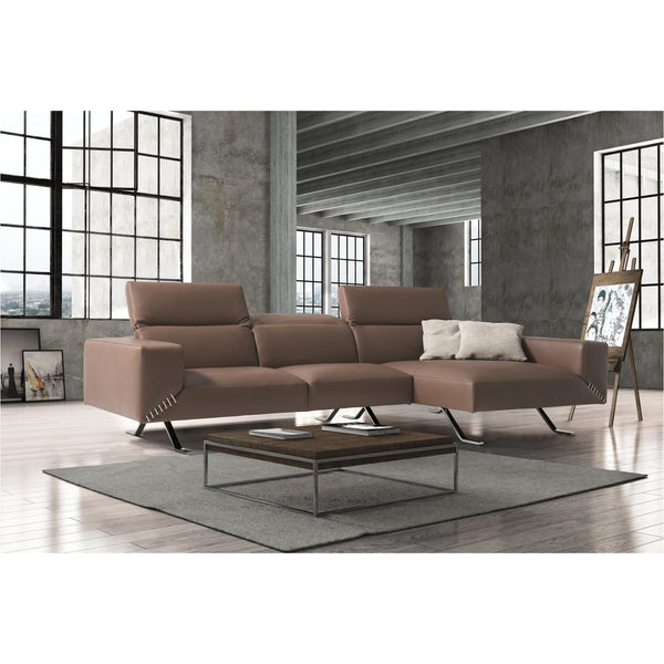 Whiteline Modern Living SR1614 Henry Sectional Taupe - homeconvex