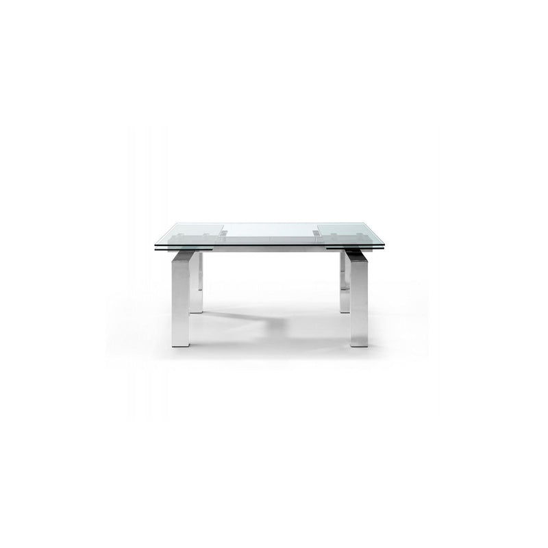Whiteline Modern Living DT1234 Cuatro Extendable Dining Table - homeconvex