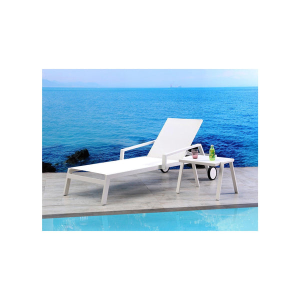 Whiteline Modern Living CL1534 Bondi Outdoor Chaise - homeconvex