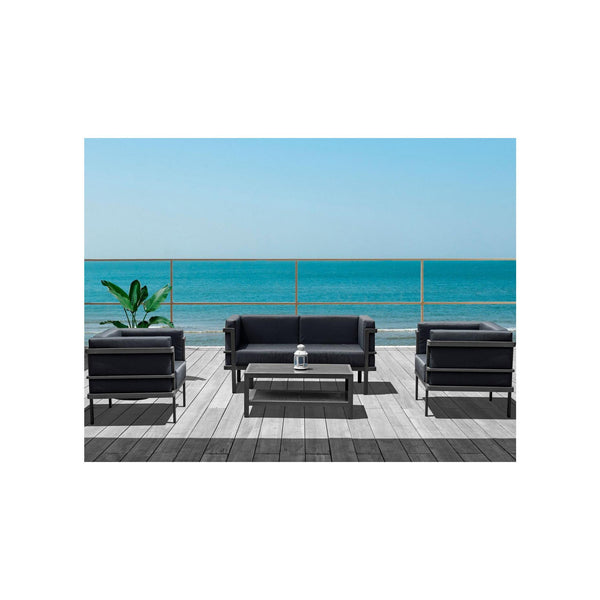 Whiteline Modern Living COL1594 Angelina Outdoor Set - homeconvex