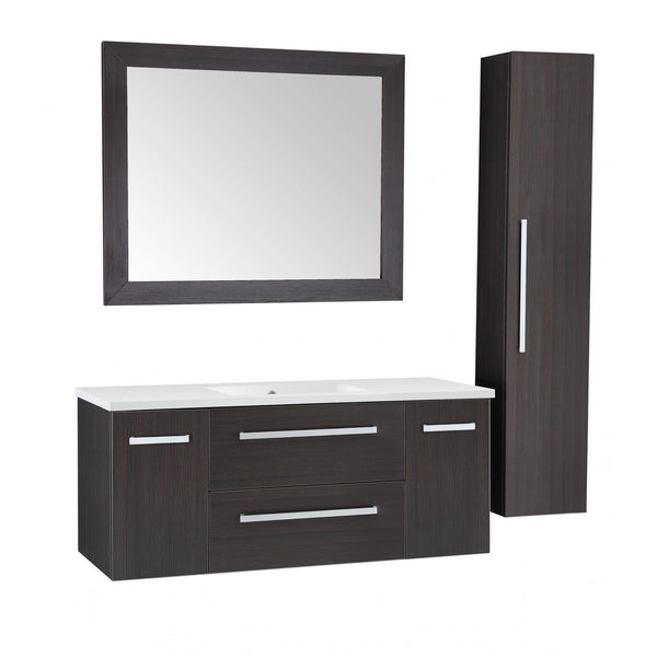 ANZZI V-CQA036-48 Conques 48 in. W x 20 in. H Bathroom Vanity Set in Rich Umber - homeconvex