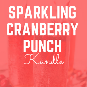 Sparkling Cranberry Punch Kandle