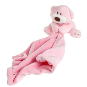Baby Kids Comforter Washable Blanket Teddy Bear Soft Smooth Toy Plush Stuffed