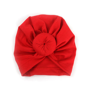 2019 Baby cotton blends Headband Soft Rabbit Bowknot Turban Hair Bands for Children Girls Elastic Headwrap Children Baby Turban