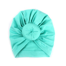 Load image into Gallery viewer, 2019 Baby cotton blends Headband Soft Rabbit Bowknot Turban Hair Bands for Children Girls Elastic Headwrap Children Baby Turban