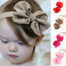 Load image into Gallery viewer, Baby Headband Ribbon Handmade DIY Toddler Infant Kids Hair Accessories Girl Newborn Bows bowknot bandage Turban tiara
