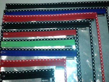 Helenz clear needlepoint project bags