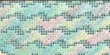 needlepoint swirl stitch