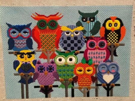 owls posted by Stitch by Stitch, Larchmont