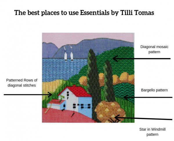 the best places to use Essentials by tilli tomas