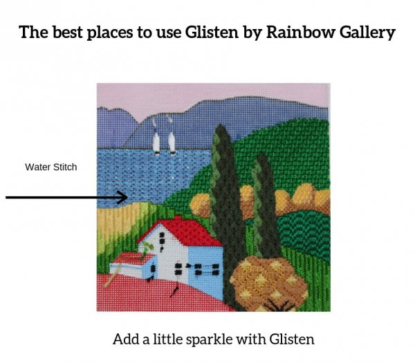 The best places to use Glisten