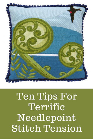 tips for even needlepoint stitches