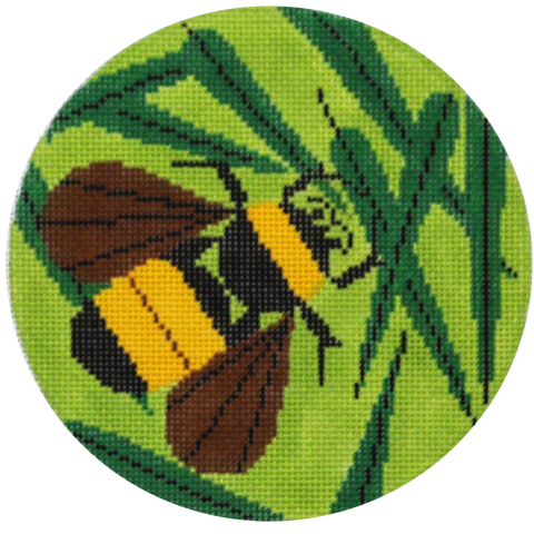Charley Harper needlepoint Bee