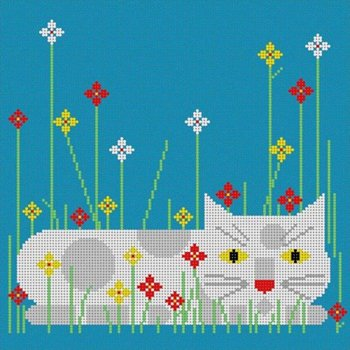 Calendar Cat by Charlie Harper
