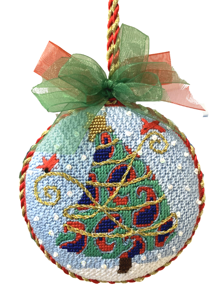 needlepoint ornament finishing
