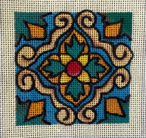 needlepoint whipped backstitch