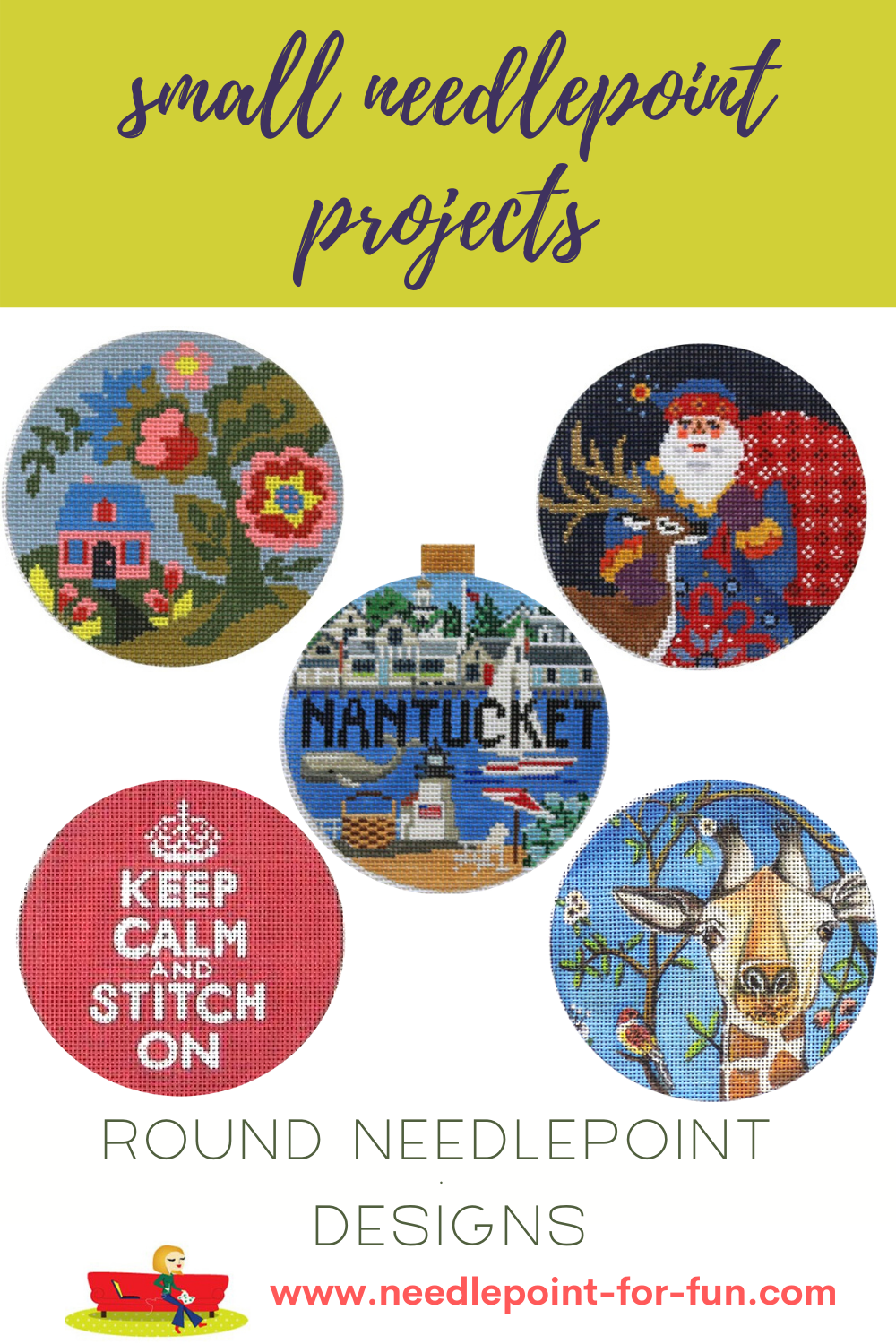 Small needlepoint projects