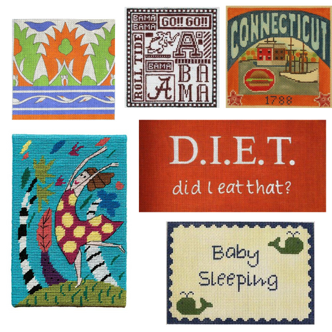 small needlepoint projects for framing