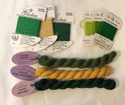 wool threads for needlepoint
