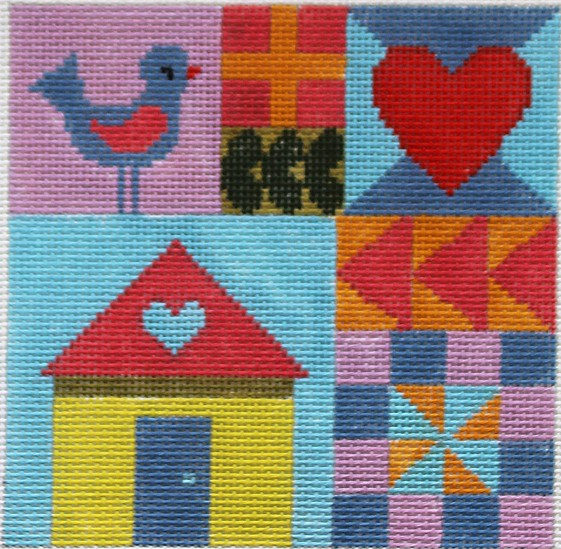 Patchwork Home Needlepoint
