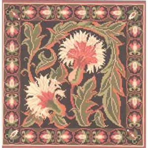 Autumn Carnation Needlepoint Kit