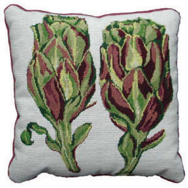 Fine Cell Needlework Artichoke Needlepoint Kit